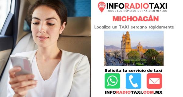 radio taxi Michoacán