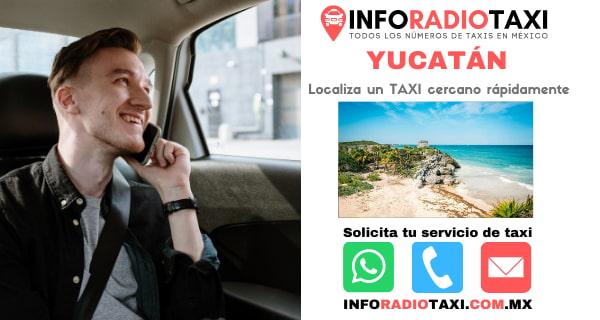 radio taxi Yucatán