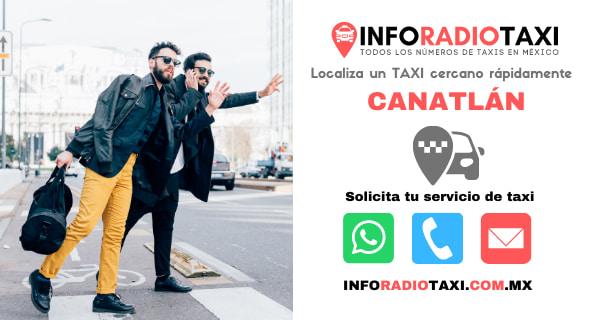 telefono radio taxi Canatlán